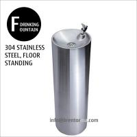 Cheap DF30 Round Floor Standing Stainless Steel Drinking Fountain for sale