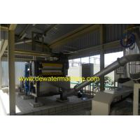 Cheap 5.5KW Belt Type Industrial Filter Press With 3 Squeezing Rollers for sale