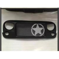 Cheap Jeep Jk Wrangler Spartan Grille_Star Material: ABS Plastic for sale