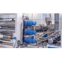 Cheap ISO Aluminium Plastic Panel ACP Production Line 1m - 5m / min Screw Diameter 180mm wholesale