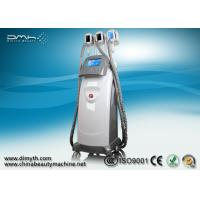 China 3 Handles Cryolipolysis Fat Freeze Slimming Machine 8 Inch LCD Touch Screen on sale