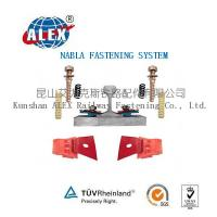 Cheap Type Nabla Railway Fastener System with Clips for sale