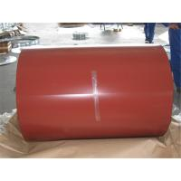 Cheap 0.14mm Ral Color 4 Feet PPGI Coils For Roofing Tile , JIS Prepainted Steel Coil for sale