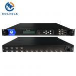 Cheap 2 ASI Inputs H 264 IPTV Encoder , HDMI IPTV Encoder IPTV Headend Device for sale