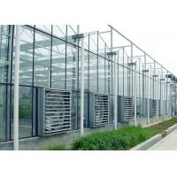 Cheap ContemporaryClear Prefab Modular House ,  Galvanized Steel Greenhouse Frame for sale