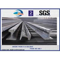 Quality Customized Railroad Steel Crane Rail , American / BS / UIC860 / UIC50 Standard wholesale