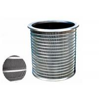 Cheap Precision Screening Purification Equipment Pressure screen Basket For Paper Mill for sale