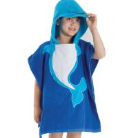 Cheap baby hooded towel kids poncho towel for sale