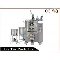 China Small Bag / Pouch Double Row Automatic Liquid Packing Machine With A+B Type Bag on sale