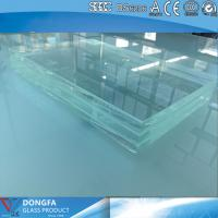 Cheap 15+15 high strength clear tempered laminated glass with CE certificate for sale