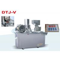 Cheap CE Semi Auto Capsule Filling Machine Pharmaceutical Filling Equipment With Touch Panel for sale