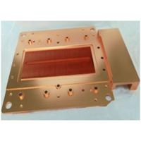 Buy cheap Precision Brass Stamping Cooling Heatsink Skiving And Machining Heat Sink with Antioxidant Treatment from wholesalers