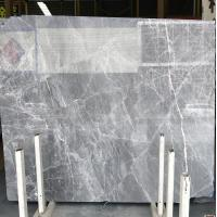 Buy cheap DORA Grey Cloud Gray Gris / Blue Natural Marble Tile And Slab For Flooring from wholesalers