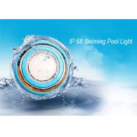 Cheap IP 68 Underwater Wall Mounted LED RGB Swimming Pool Light Stainless Steel Outdoor LED Pond  Lamp wholesale