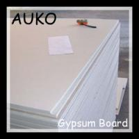 Cheap Gypsum board 2400*1200*9.5 for wall partition (drywall) for sale