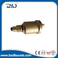 15mm brass water radiator valve automatic air vent valve with check valve