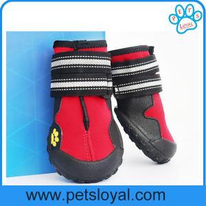 Anti-Slip Waterproof Sole Medium Large Pet Dog Shoes China Factory