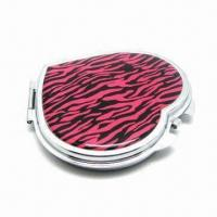 Cheap Heart-shaped mirror/fashionable mirror for ladies, heart design for sale