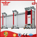 Cheap Aluminum Electric Folding Sliding Gate Professional Manufacturer-L1516 for sale