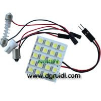 Cheap Led Reading Light Led dome led interior bulb led 20pcs 5050 SMD 3W car top lighting for sale