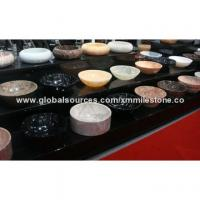 Cheap Stone wash basin used in bathroom, 100+ marble varieties are available for sale