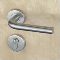 Cheap Silver SUS304 Stainless Steel Escutcheon Lock Fire Proof For Residential wholesale