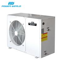 Cheap 3.5KW to 6.8KW Air to water heat pump water cycle air heat pump monoblock heat pump for domestic hot water for sale