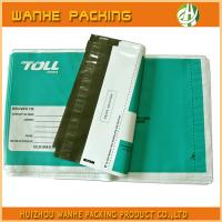 Colourful poly shipping mailing package bag