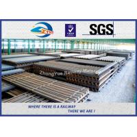 Quality U Shape Z Shape Sheet Pile Steel Crane Rail GB JIS UIC Standard wholesale
