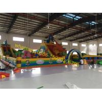 Cheap stocks giant bouncy castle playground for sales for sale