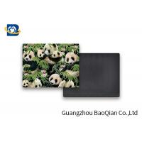 Cheap Lovely Panda Photo Lenticular Magnet Souvenir Customized Size SGS Certificated for sale