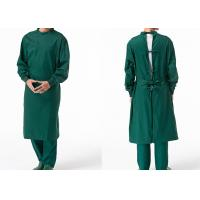 Buy cheap Reusable Poly Cotton Surgical Gown Autoclavable Reinforced Scrub Suits from wholesalers