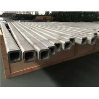 Cheap Seamless Stainless Steel Square Tube 2000-12000mm 304 316 Material for sale