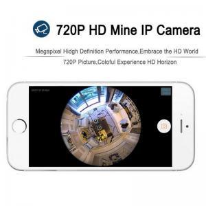 Quality EC5 720P Fisheye Panorama WIFI P2P IP Camera IR Night Vision CCTV DVR Wireless wholesale
