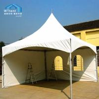 China Durable Spring Top Marquee Flame Retardant PVC Sidewalls And Windows on sale