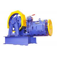 Cheap Elevator Parts / Geared Traction Machine With AC Motor , Load 1000 - 2000 KG  SN-TMYJ210A for sale