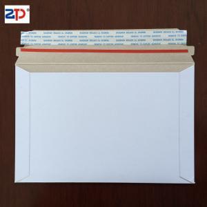Cheap board mailer cardboard rigid envelope for sale
