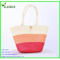Cheap fashionable wheat straw bags for LDWS-69 for sale