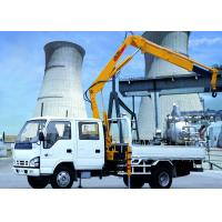 Buy cheap XCMG Hydraulic Arm Knuckle Boom Truck Mounted Crane With CE Certification from wholesalers