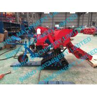 Cheap 4LZ-0.7 mini paddy combine harvester with crawler, rice wheat 14HP for sale