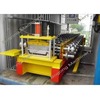 China Customized Standing Seam Roll Forming MachineWith Cr12 Steel Cutting Blade on sale