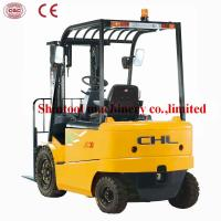 Cheap 3 Ton AC Electric Forklift Truck CPCD30 4 Wheel With 3000kg Load Capacity for sale