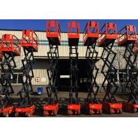 Cheap Self Propelled Small Scissor Lift With Extendable Platform for sale