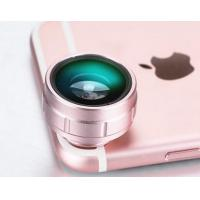 Cheap 180 Degree Clip On Phone Camera Lens , Detachable Lens For Mobile Phone wholesale