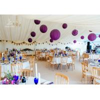 Cheap Luxury Wedding Tents Aluminum Profile Lining Deco Different Desk and Table Options wholesale