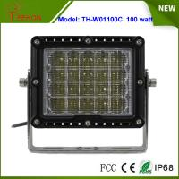 """Cheap 8"""" 100W LED Work Light Spot or flood Beam for Heavy Duty Driving Light for jeep,truck,suv for sale"""