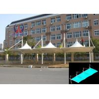 Cheap Modularized Size Commercial Car Park Shade Structures For Bike / Motors wholesale