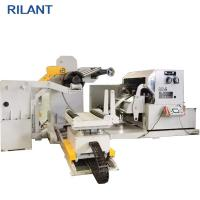 Cheap Uncoiler Feeding Leveling Steel Coil Cutting Machine , Fast Automatic Cut To Length Machines for sale