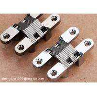 Cheap Soss Concealed Hinges / Furniture Soss Type Zamak Invisible Hidden Hinges for sale