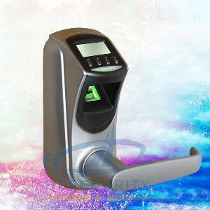 Cheap OLED Fingerprint Door Lock with DIY Handle (HF-LA601) for sale